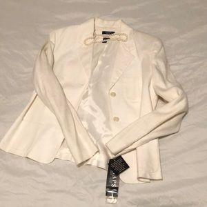 Chaps linen blazer